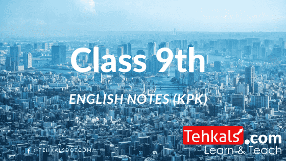 Class 9th English notes